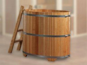 Badebottich - Badebottisch zur Erfrischung nach der Sauna