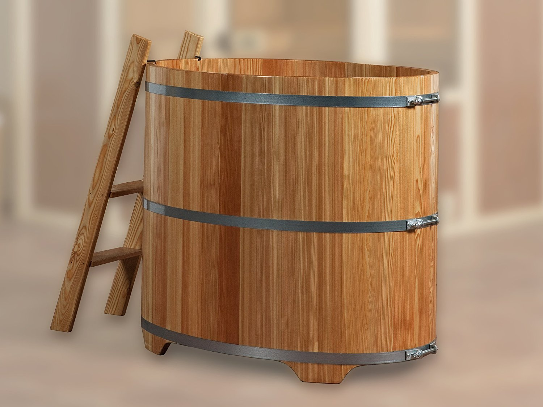 Badebottich - Badefass - Erfrischung nach der Sauna ist gesund