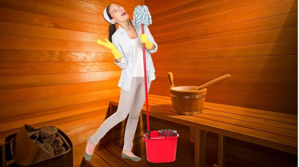 Deine Sauna reinigen und pflegen - Das musst dabei beachten, damit sie unkaputtbar wird.