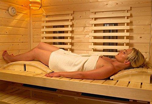 saunakopfst tze f r einen bequemen saunagang. Black Bedroom Furniture Sets. Home Design Ideas