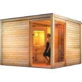 Saunahaus CUBUS ECK 2 3,20 x 3,20 m mit Sauna JARIN