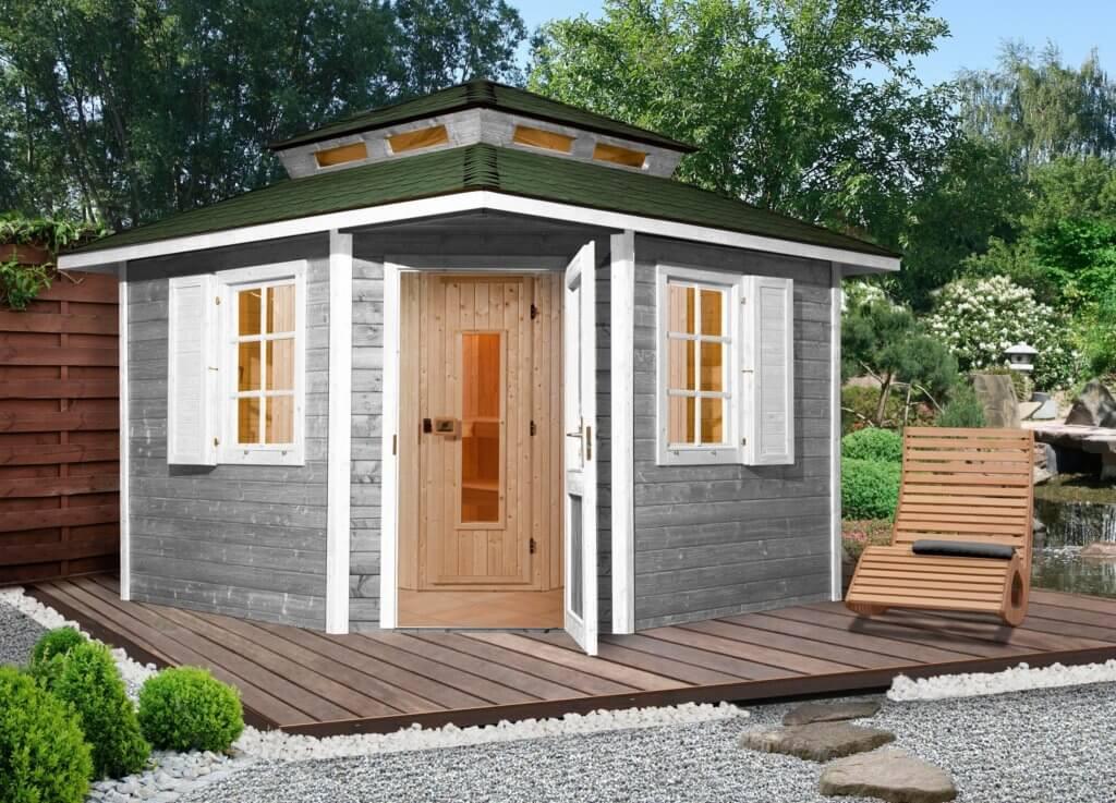 weka sauna 149 os 298 298 315 cm 68 mm 7 5 kw ofen. Black Bedroom Furniture Sets. Home Design Ideas