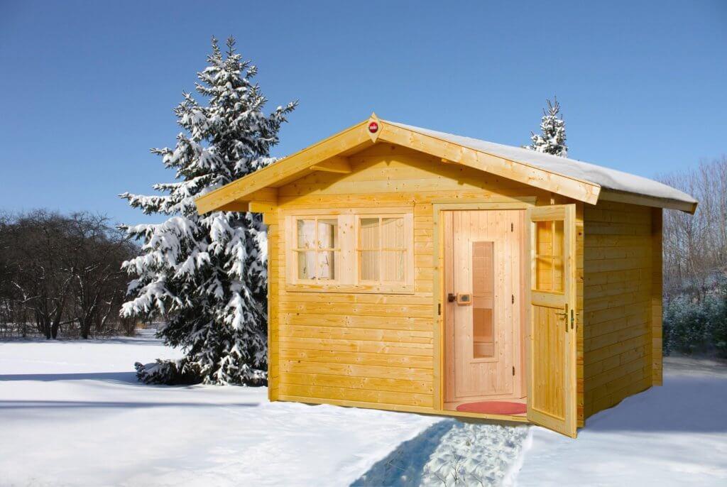 weka saunahaus svendborg 3 bios mit vorraum und bio kombiofen. Black Bedroom Furniture Sets. Home Design Ideas