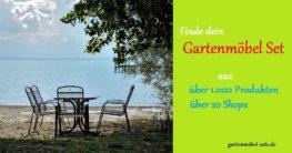 Gartenmöbel-Set kaufen in jeder Variation: von Holz- bis Rattanmöbel ist alles dabei