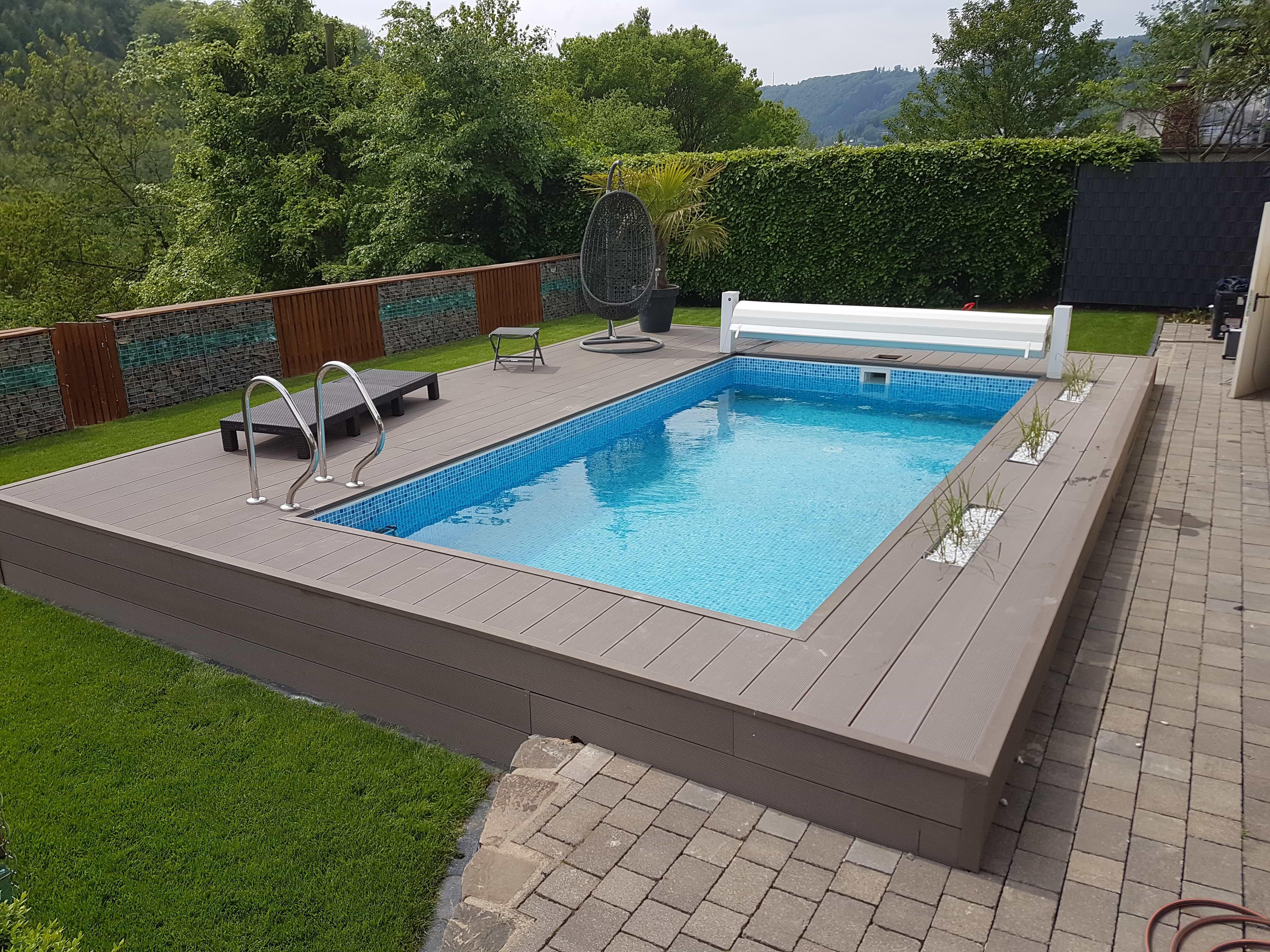 gartenpool-idealer swimming pool für den garten