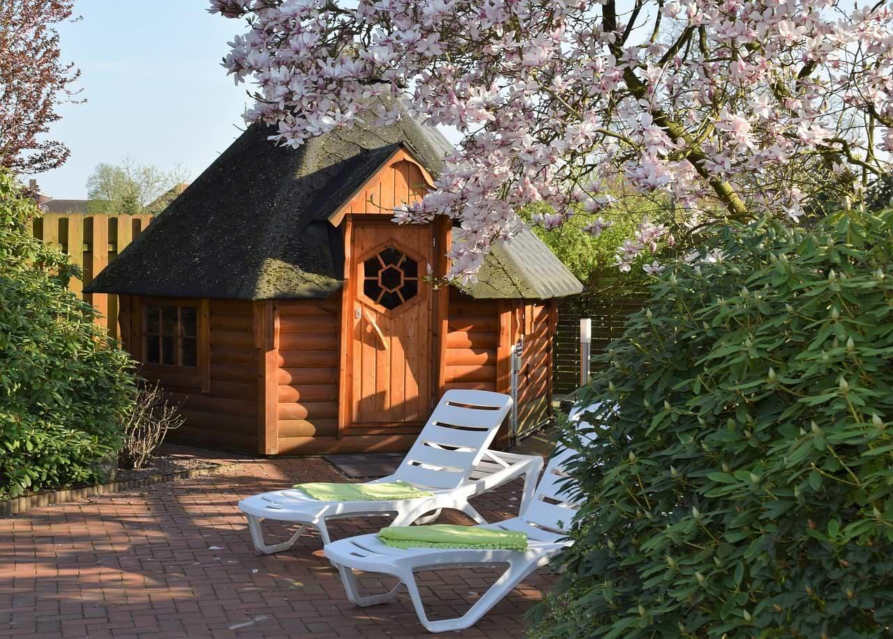 Sauna im Garten Vor- und Nachteile