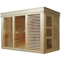Saunahaus »Paradiso«, BxTxH: 329 x 229 x 261 cm, ohne Ofen